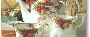 Découvrir la porcelaine anglaise…